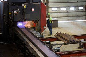 Công nghệ PythonX ứng dụng trong sản xuất dầm thép