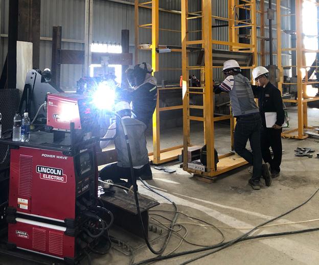 Double Good JSC - 9Ni welding procedure